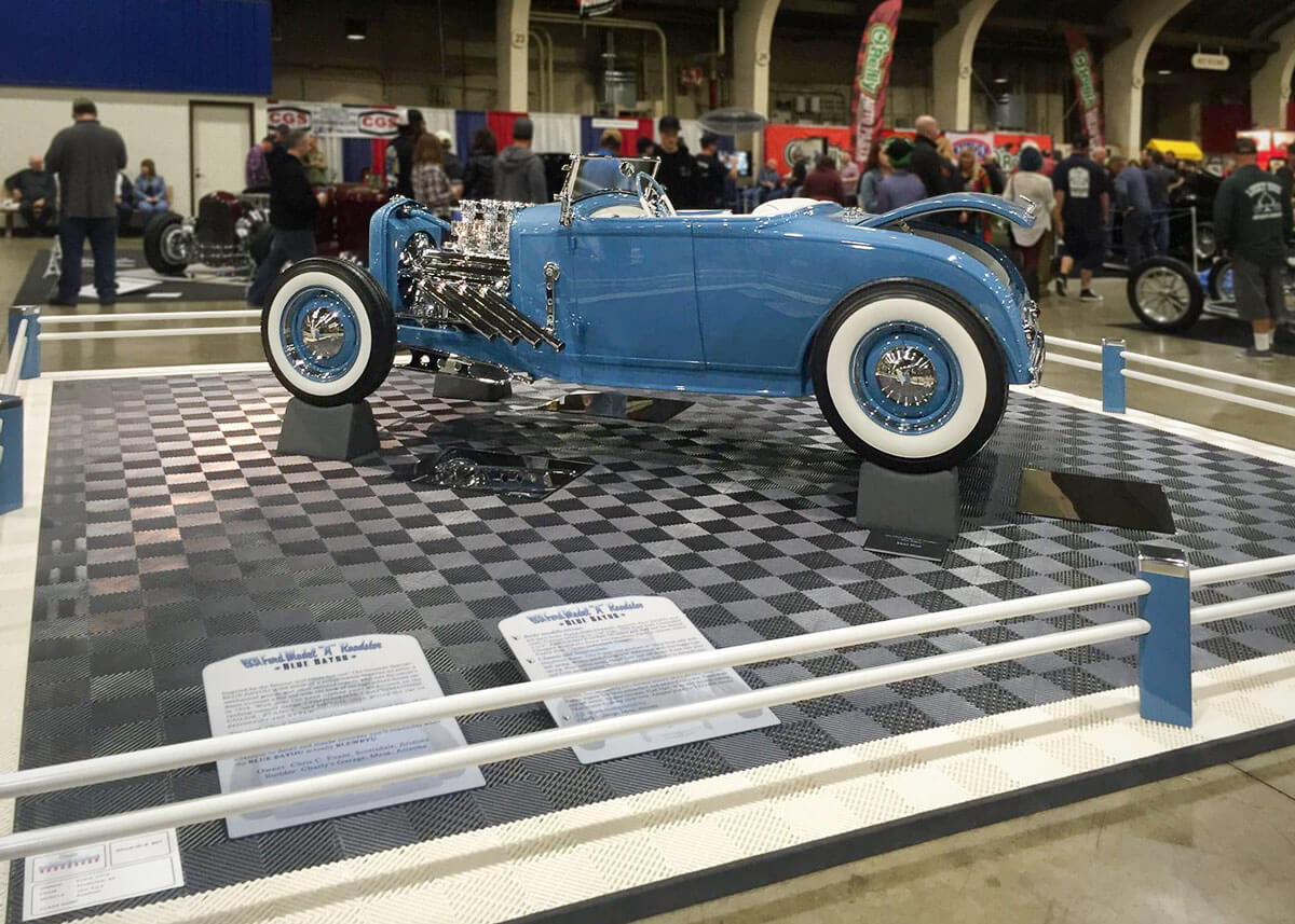 The Blue Bayou 1931 Ford model A Roadster