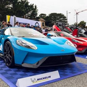 Michelin supercar display