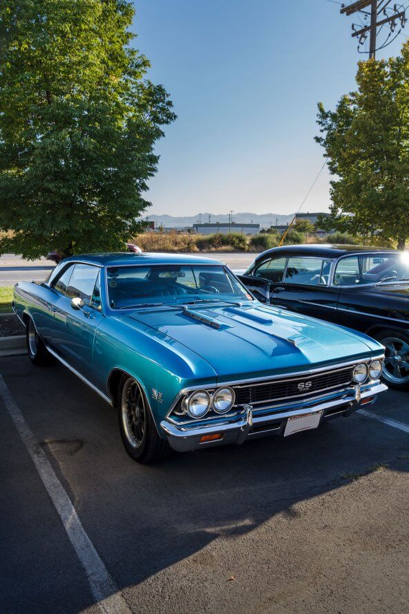 Classic Chevy Chevelle SS from the Goodguys Road Tour kickoff at RaceDeck.