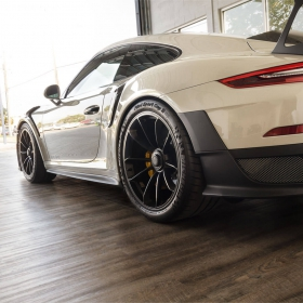 Porsche GT2 RS on Smoked Oak at Luxe Auto Spa