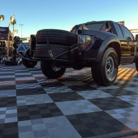 Off-road trucks at SEMA