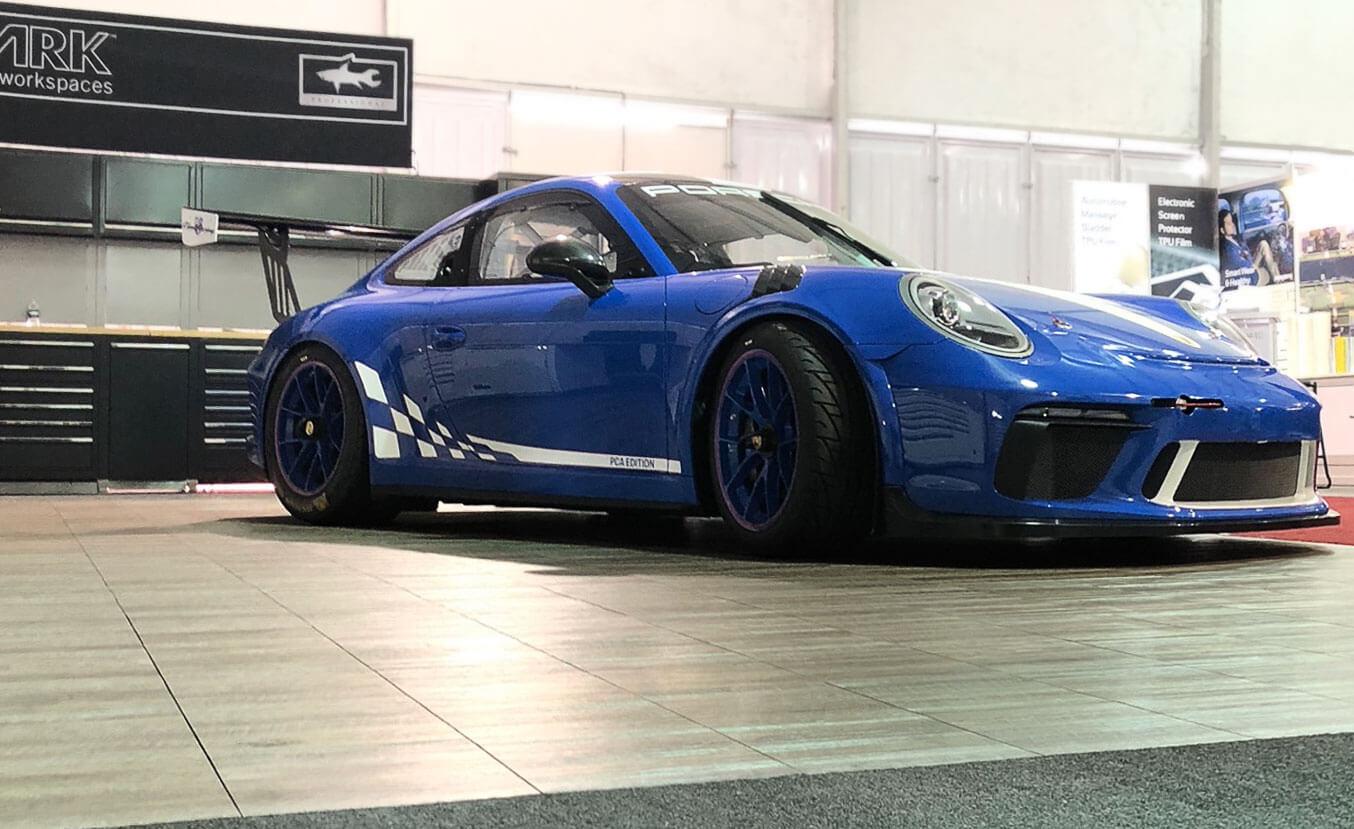 Porsche PCA edition at SEMA