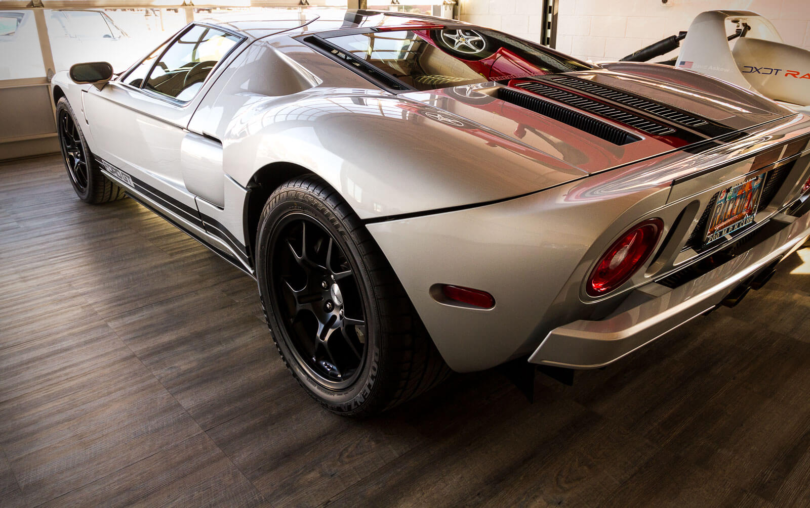 Ford GT 500 on Smoked Oak, product featured in the SEMA News Magazine