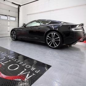 Aston Martin on Diamond TuffShield flooring