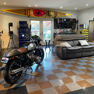 Frank Mewborn's Man Cave and Shop