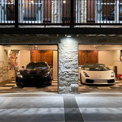 Josh Boyer's Garage Exterior