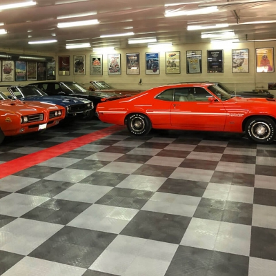 Ken Berger's Checkered Garage and Car Collection