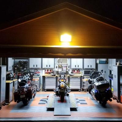Stephen Fantasia's Motorcycle Garage and Workshop