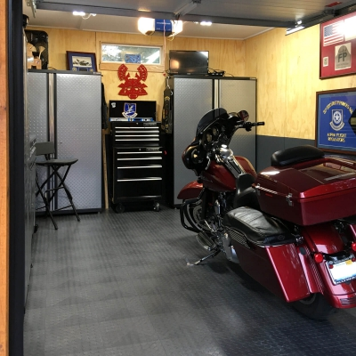 Jon Paul's Garage Interior